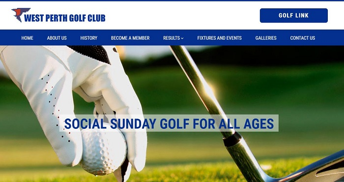 golf club websites